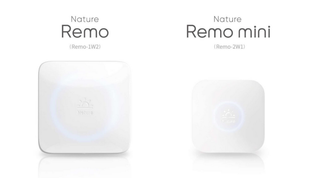 Nature RemoとNature Remo mini 比較と違い